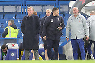 AFC Wimbledon manager Wally Downes watching from the side lines during the EFL Trophy match between U21 Chelsea and AFC Wimbledon at Stamford Bridge, London, England on 4 December 2018.