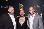 Chef Evan Funké, and Director Gabriel Taraboulsy, and Producer / Editor Alexander Emanuele