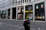 As Londoners await the second coronavirus national lockdown the City of London braces itself for the economic hardship to come a few days before a month-long total lockdown in the UK on 2nd November 2020 in London, United Kingdom. The three tier system in the UK has not worked sufficiently, to suppress the virus, and there have have been calls by politicians for a 'circuit breaker' complete lockdown to be announced to help the growing spread of the Covid-19.
