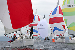The Silvers Marine Scottish Series 2014, organised by the  Clyde Cruising Club,  celebrates it's 40th anniversary.<br /> K4294, Odyssey II, Harold Hood, RNCYC <br /> Final day racing on Loch Fyne from 23rd-26th May 2014<br /> <br /> Credit : Marc Turner / PFM