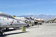 Vintage War Planes at Palm Springs Air Museum
