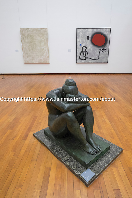 Sculpture Night by Aristide Maillol at National Museum of  Modern Art Tokyo