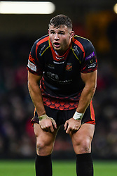 27th April 2019 , Principality Stadium , Cardiff, Wales ; Guinness pro 14's, Round 21, Dragons vs Scarlets ; Elliot Dee of Dragons<br /> <br /> Credit :  Craig Thomas/Replay Images