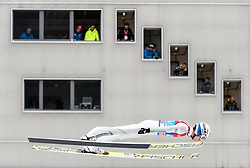 31.12.2015, Olympiaschanze, Garmisch Partenkirchen, GER, FIS Weltcup Ski Sprung, Vierschanzentournee, Training, im Bild Johann Andre Forfang (NOR) // Johann Andre Forfang of Norway during his Practice Jump for the Four Hills Tournament of FIS Ski Jumping World Cup at the Olympiaschanze, Garmisch Partenkirchen, Germany on 2015/12/31. EXPA Pictures © 2015, PhotoCredit: EXPA/ Jakob Gruber during his Practice Jump for the Four Hills Tournament of FIS Ski Jumping World Cup at the Olympiaschanze, Garmisch Partenkirchen, Germany on 2015/12/31. EXPA Pictures © 2015, PhotoCredit: EXPA/ Jakob Gruber