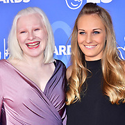 Kelly Gallagher and Charlotte Evans attends BBC1's National Lottery Awards 2019 at BBC Television Centre, 101 Wood Lane, on 15 October 2019, London, UK.