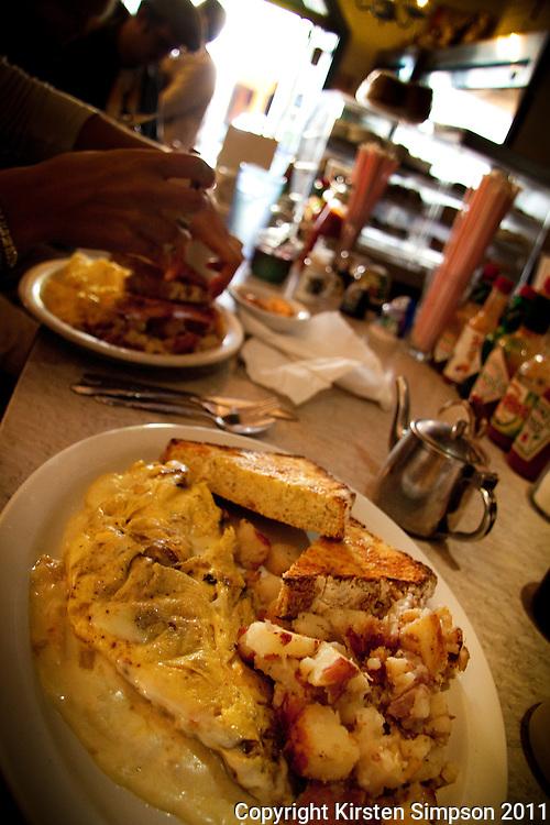 Famous Dotti's breakfast in San Francisco