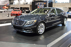 11 February 2016: Mercedes Benz Maybach.<br /> <br /> First staged in 1901, the Chicago Auto Show is the largest auto show in North America and has been held more times than any other auto exposition on the continent.  It has been  presented by the Chicago Automobile Trade Association (CATA) since 1935.  It is held at McCormick Place, Chicago Illinois<br /> #CAS16