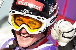 08.02.2011, Kandahar, Garmisch Partenkirchen, GER, FIS Alpin Ski WM 2011, GAP, Lady Super G, im Bild jubel der  Siegerin und Weltmeisterin Elisabeth GOERGL (AUT) // Winner and World Champion, Elisabeth GOERGL (AUT) celebrates during Women Super G, Fis Alpine Ski World Championships in Garmisch Partenkirchen, Germany on 8/2/2011, 2011, EXPA Pictures © 2011, PhotoCredit: EXPA/ J. Feichter