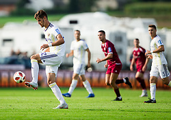 Luka Uskokovič of Maribor during football match between NK Triglav Kranj and NK Maribor in Round #7 of Prva liga Telekom Slovenije 2018/19, on September 2, 2018 in Kranj, Slovenia. Photo by Vid Ponikvar / Sportida