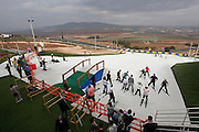 Israel, Gilboa Mountain, Artificial skiing slope