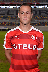 02.07.2015, Esprit Arena, Duesseldorf, GER, 2. FBL, Fortuna Duesseldorf, Fototermin, im Bild Michael Liendl ( Fortuna Duesseldorf / Portrait ) // during the official Team and Portrait Photoshoot of German 2nd Bundesliga Club Fortuna Duesseldorf at the Esprit Arena in Duesseldorf, Germany on 2015/07/02. EXPA Pictures © 2015, PhotoCredit: EXPA/ Eibner-Pressefoto/ Thienel<br /> <br /> *****ATTENTION - OUT of GER*****