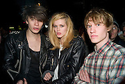 JOHNNO NAMARA; ALYS HALE; JAMIE BEGGAR, The Pirate Provocateur Extravaganza launch party for the new Agent Provocateur Winter collection and for the release of Dirty Stop Out's new album 'Cuntro Classics' at KOKO. Campden. London. 13 November 2008 *** Local Caption *** -DO NOT ARCHIVE-© Copyright Photograph by Dafydd Jones. 248 Clapham Rd. London SW9 0PZ. Tel 0207 820 0771. www.dafjones.com.