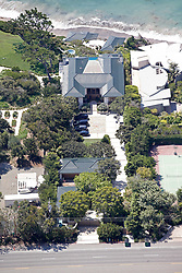 EXCLUSIVE: A series of aerial pictures shot over Malibu, CA showing singer Robbie Williams new home and the proximity to his famous neighbors. 02 Aug 2018 Pictured: Cindy Crawfords home. Photo credit: Toby Canham/MEGA TheMegaAgency.com +1 888 505 6342