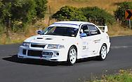 Leigh Finlayson & Mike Stoneman.2000 Mitsubishi Lancer Evolution VI TME.Day 2.Targa Wrest Point 2009.Southern Tasmania.1st of February 2009.(C) Joel Strickland Photographics.