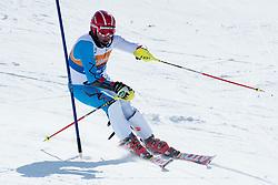 REDKOZUBOV Valery, RUS, Slalom, 2013 IPC Alpine Skiing World Championships, La Molina, Spain