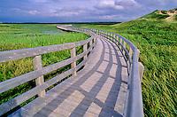 Prince Edward Island National Park - the boardwalk leads over sensitive lands.