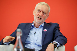 © Licensed to London News Pictures. 10/12/2016. London, UK. Labour leader and the leader of opposition JEREMY CORBYN speaks on human rights at the Methodist Central Hall in Westminster, London on Saturday, 10 December 2016. Photo credit: Tolga Akmen/LNP