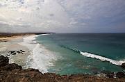 Rugged Atlantic Ocean coast at El Cotillo, Fuerteventura, Canary Islands, Spain