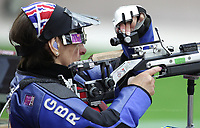 Paralympics London 2012 - ParalympicsGB - Shooting Womens R2-10m Air Rifle Standing - SH1 Heats 30th August 2012<br />   <br /> Amanda Pankhurst competing in the Womens R2-10m Air Rifle Standing - SH1 Heats at the Paralympic Games in London. Photo: Richard Washbrooke/ParalympicsGB