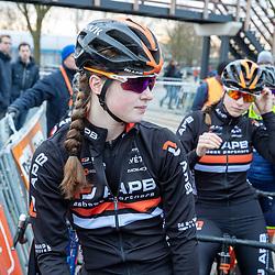 12-01-2020: Wielrennen: NK Veldrijden: Rucphen<br />Ilse Pluimers