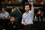 EnviroNZ Bulls assistant coach Morgan Maskell in the Sal's NBL Basketball match, Taylor Hawks v EnviroNZ Bulls, Pettigrew Green Arena, Napier, Saturday, June 26, 2021. Copyright photo: Kerry Marshall / www.photosport.nz