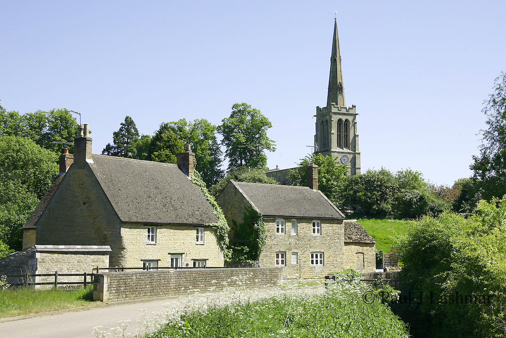 The Northamptonshire village of Bulwick, north of corby off the A43 towards Stamford