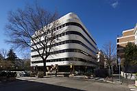 02/Febrero/2019 Madrid.<br /> Edificio de la Fundación Juan March.<br /> <br /> © JOAN COSTA