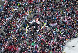 05.02.2017, Heini Klopfer Skiflugschanze, Oberstdorf, GER, FIS Weltcup Ski Sprung, Oberstdorf, Skifliegen, im Bild Markus Eisenbichler (GER) // Markus Eisenbichler of Germany during mens FIS Ski Flying World Cup at the Heini Klopfer Skiflugschanze in Oberstdorf, Germany on 2017/02/05. EXPA Pictures © 2017, PhotoCredit: EXPA/ Peter Rinderer