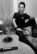 Joe Strummer at home in West London The Clash 1979