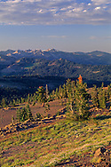 View from Andesite Peak, near Donner Summit, Tahoe National Forest, California