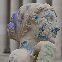 Graffitied Woman ll