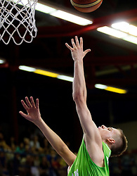 Klemen Prepelic of Slovenia during basketball match between National teams of Turkey and Slovenia in Qualifying Round of U20 Men European Championship Slovenia 2012, on July 17, 2012 in Domzale, Slovenia. (Photo by Vid Ponikvar / Sportida.com)