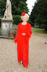 DIANA MORAN at a fund raising event for The Galapagos Conservation Trust entitled 'Some Enchanted Evening' at the Chelsea Physic Garden Chelsea, London on 17th June 2004.