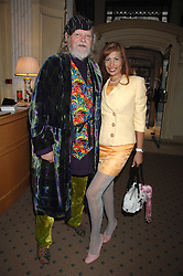 The MARQUESS OF BATH and MISS TRUDI JUGGERNAUT-SHARMA at a private view of portraits, Still-Lives and Statues by artists Barbara Kaczmarowska Hamilton and Simon Boudard held at Partridge Fine Art Ltd, New Bond Street, London on 16th May 2007.<br />