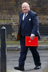 © Licensed to London News Pictures. 03/03/2015. LONDON, UK. Communities Secretary Eric Pickles attending to a cabinet meeting in Downing Street on Tuesday, 3 March 2015. Photo credit: Tolga Akmen/LNP