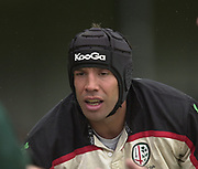 Leicester, Leicestershire, 3rd May 2003, Welford Road Stadium, [Mandatory Credit: Peter Spurrier/Intersport Images],Zurich Premiership Rugby - Leicester Tigers v London Irish<br /> Wxiles No. 8 Mike Sheasby