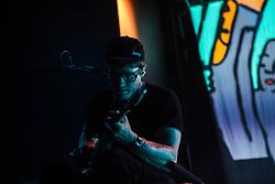 July 3, 2018 - Milan, Milan, Italy - Eric Howk of the Portugal. The Man performing live at Fabrique Milan Italy  (Credit Image: © Roberto Finizio/NurPhoto via ZUMA Press)