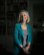 """BIRMINGHAM, AL – NOVEMBER 3, 2016: Louise McPhillips, 62, sits at home where she manages her own residential architecture firm. As a seventh grade student, McPhillips remembers taking a career aptitude test that pointed her toward careers requiring proficiency in mathematics, such as architecture. When her counselor told her women couldn't be architects because they aren't good at math, she listened. """"I thought he was imparting great wisdom on me, trying to save me this heartache from not being able to do it,"""" McPhillips said. As a result, she went to college and majored in historic preservation instead. """"I was a senior in college before I even thought about going back to graduate school for architecture. And it turns out I can do math, thank you very much."""" McPhillips received her masters degree in architecture from the University of Virginia in 1980, studied further in Vincenza, Italy, and later worked as an apprentice for KPS group in Birmingham, Alabama before starting her own practice in 1984. CREDIT: Bob Miller for The New York Times"""