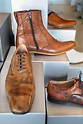 Nederland, Nijmegen, 3-4-2009Winkels in Nijmegen.Jan Jansen, schoenenwinkel.Foto: Flip Franssen/Hollandse Hoogte