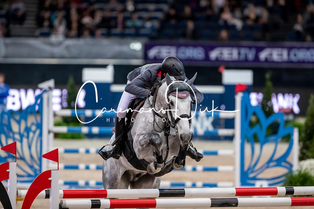 Nielsen Denis, GER, Carlo S 4<br /> Stuttgart - German Masters 2018<br /> © Hippo Foto - Stefan Lafrentz