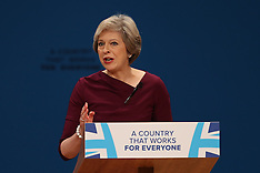 Birmingham: Conservative Party Conference, 5 October 2016