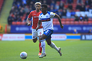 Kgosi Nthle during the EFL Sky Bet League 1 match between Charlton Athletic and Rochdale at The Valley, London, England on 4 May 2019.