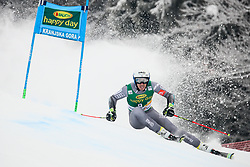 Victor Muffat-Jeandet of France competes during 1st run of Men's GiantSlalom race of FIS Alpine Ski World Cup 57th Vitranc Cup 2018, on March 3, 2018 in Kranjska Gora, Slovenia. Photo by Ziga Zupan / Sportida