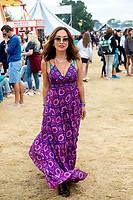 Maylene Klaus at the Big Feastival 2021 on Alex James Cotswolds farm, Kingham oxfordshire