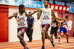 Mississippi State, new meet record 1:25.20, mens 4x200 relay college, Armory Track Invitational Indoor,