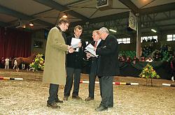Jury<br /> BWP Stallion Keuring 2001<br /> Photo © Dirk Caremans