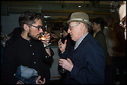 , DAN COX;  Marc Camille Chaimowicz Frieze party, ACE hotel Shoreditch. London. 18 October 2014