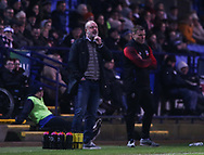 Bolton Wanderers manager Keith Hill during the EFL Sky Bet League 1 match between Bolton Wanderers and Southend United at the University of  Bolton Stadium, Bolton, England on 21 December 2019.