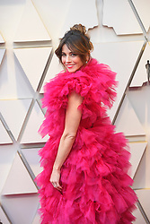 February 24, 2019 - Los Angeles, California, U.S - LINDA CARDELLINI, wearing a red Schiaparelli, during red carpet arrivals for the 91st Academy Awards, presented by the Academy of Motion Picture Arts and Sciences (AMPAS), at the Dolby Theatre in Hollywood. (Credit Image: © Kevin Sullivan via ZUMA Wire)