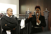 New York, NY-December 3: (L-R) Designer Edward Wilkerson and Author/Designer Harriette Cole attend Harriette Cole's 20th Anniversary Business Celebration held at Lafayette 148 Headquarters on December 3, 2015 in New York City.  (Photo by Terrence Jennings/terrencejennings.com)